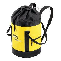Petzl, Bucket 25 liter, yellow