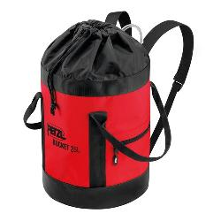 Petzl, Bucket 35 liter, red