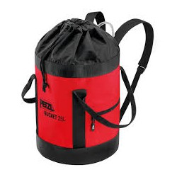 Petzl, Bucket 25 ltr, red