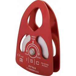 ISC, Large Single Prussik Pulley, Aluminium with Bushing 70KN
