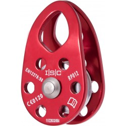 ISC, Small Eiger Pulley 13mm Red