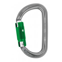 Petzl, Karabijnhaak, Am'D, pin lock, D-Vorm set of 10pc