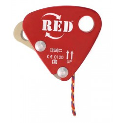 ISC, RED Back up Device, 10.5-11.5 mm rope