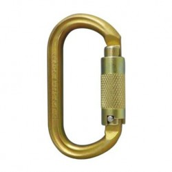 ISC, Karabiner Steel Oval Screw Lock 40KN