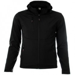 M-Wear Softshell 6100 Grijs Melange