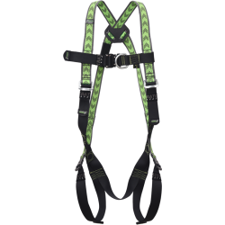 Body harness 2 attachment points which 1 on chest strap and with automatic buckles, size S-L